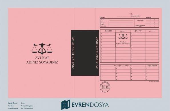 Adliye Mahkeme İcra Dosyası Açık Pembe